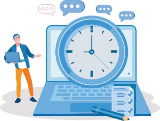 queue times and wait times are lower with EdgeTier at contact centres.